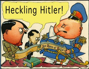 Heckling_Hitler Cartoon Museum