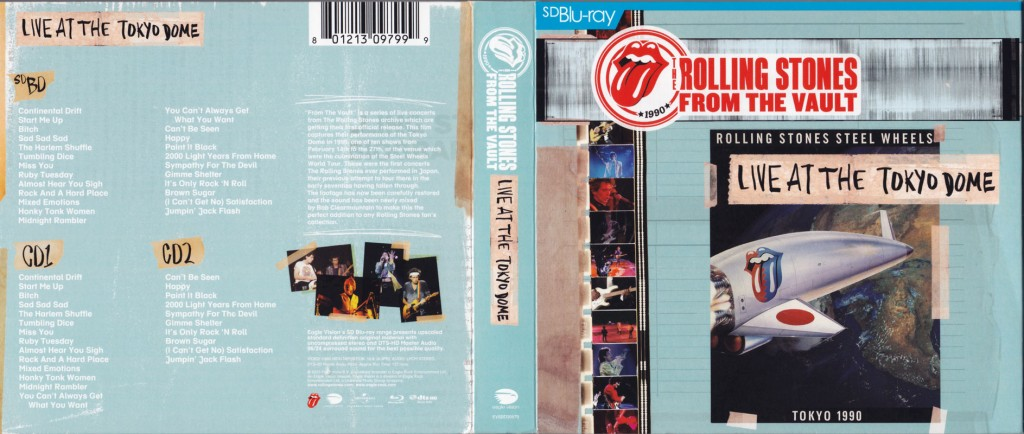 live dvd covers the rolling stones