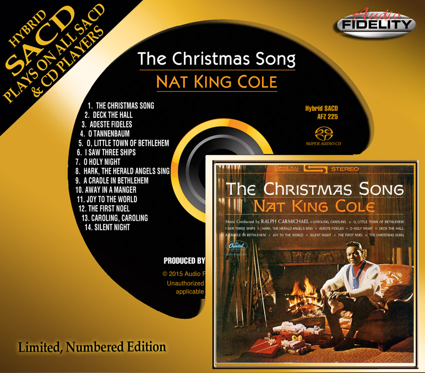 Nat King Cole Christmas.Cd Review Nat King Cole The Christmas Song