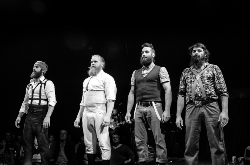 Barbu Udderbelly review