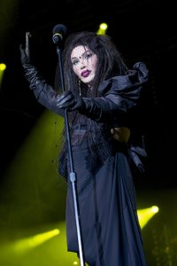 Mandatory Credit: Photo by Stephanie Paschal/REX/Shutterstock (2048059bs) Pete Burns - Dead or Alive Hit Factory Live - Christmas Cracker at the O2 Arena, London, Britain - 21 Dec 2012