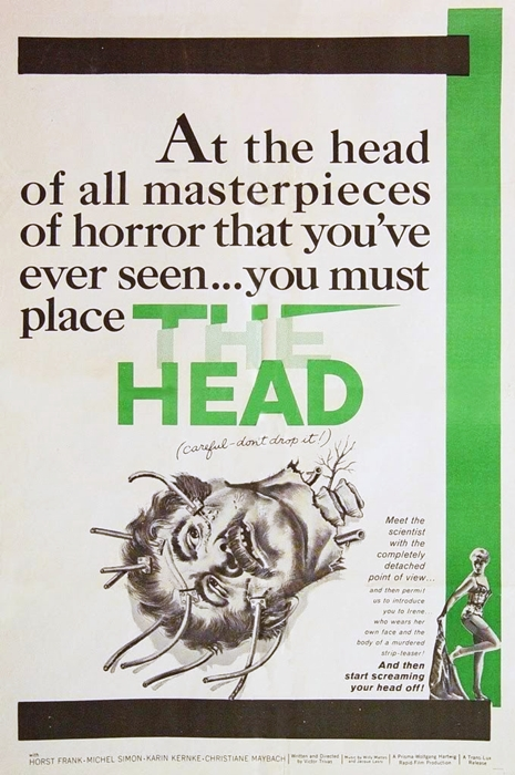 The Head (1959) poster