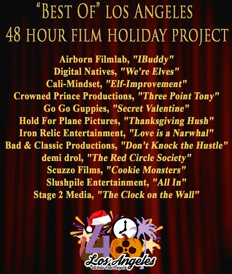 Best of Los Angeles 2016 48 Hour Film Holiday Project