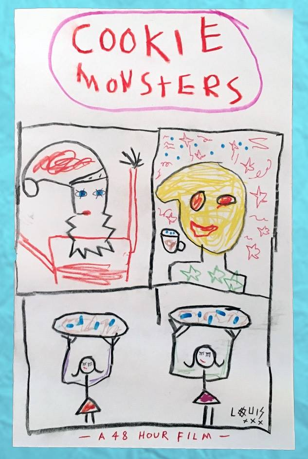 Cookie Monsters (2016) poster