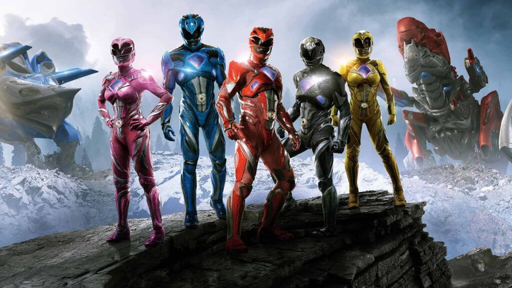 review power rangers