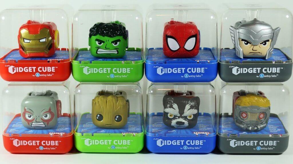 avengers fidget cubes