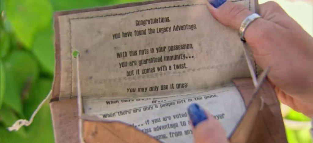 Survivor Legacy Advantage