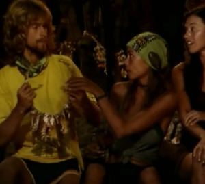 Survivor Erik and Natalie