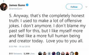 Disney Drops James Gunn
