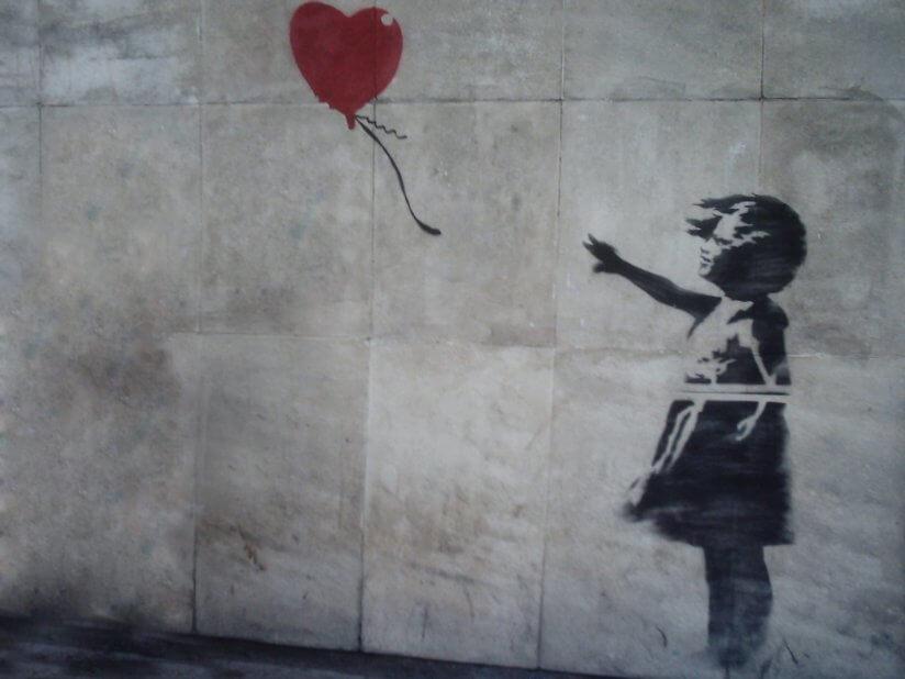 Banksy shred