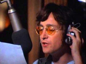 John Lennon recording
