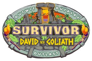 Survivor David vs Goliath logo