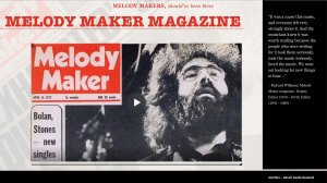 Melody Makers book page
