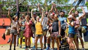 Australian Survivor S05E14 tribes merge