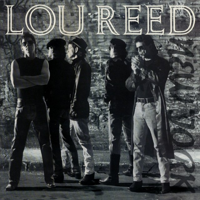 Lou Reed New York cover