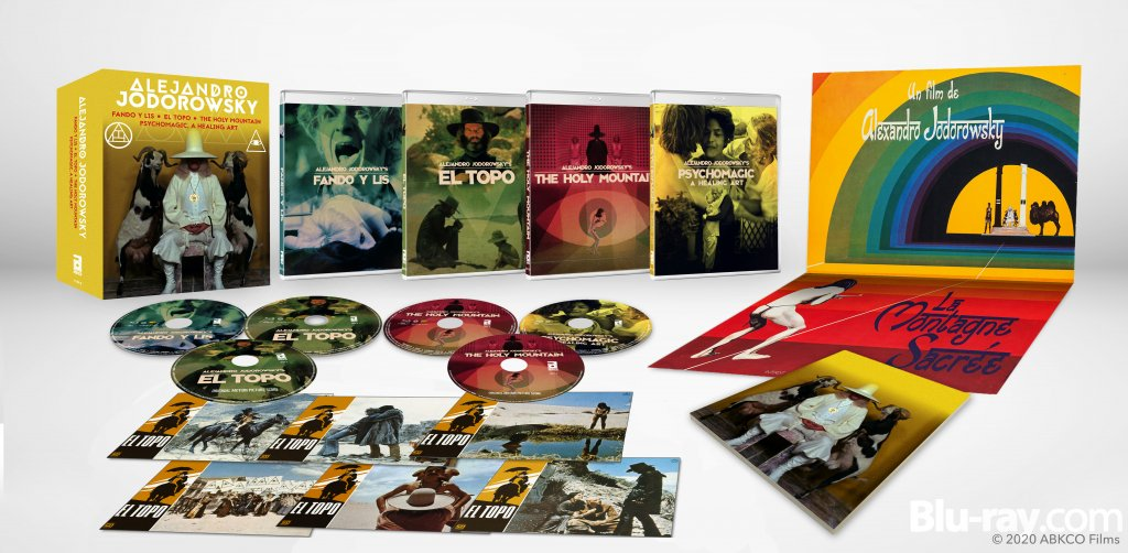 jodorowsky blu ray set