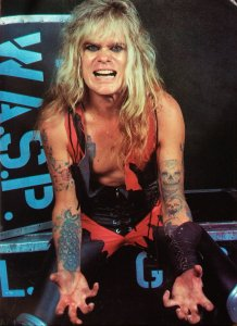 Chris Holmes in W.A.S.P.