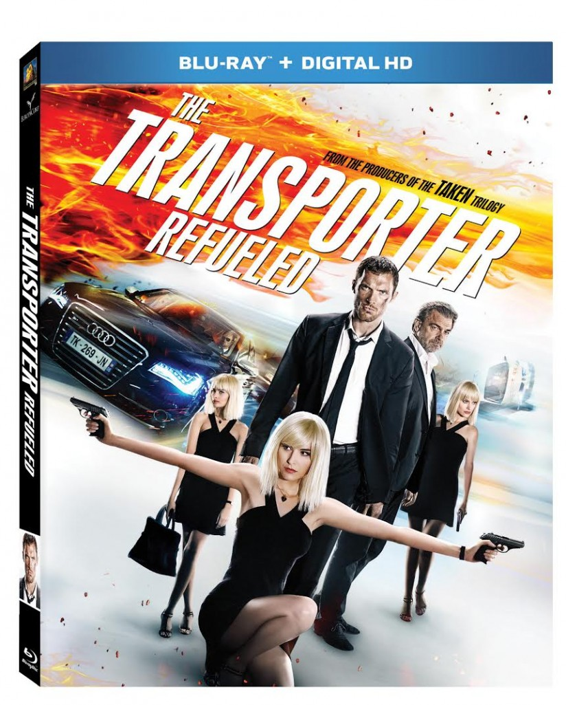 Transporter Refueled Blu-Ray