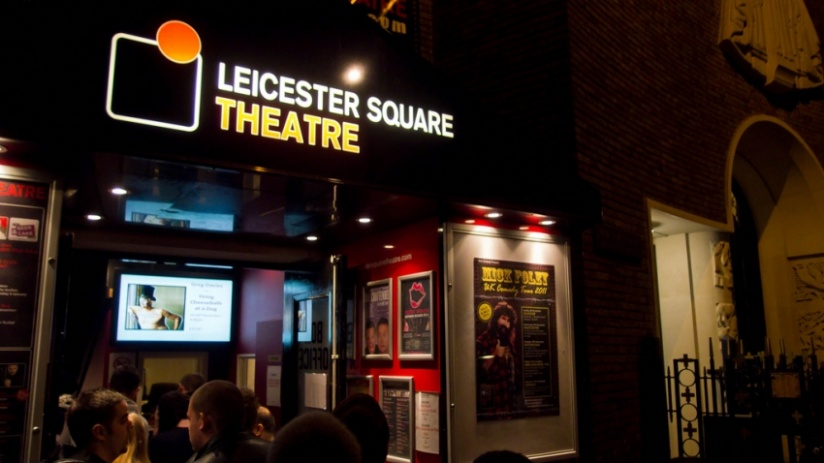 Leicester Square Richard Herring