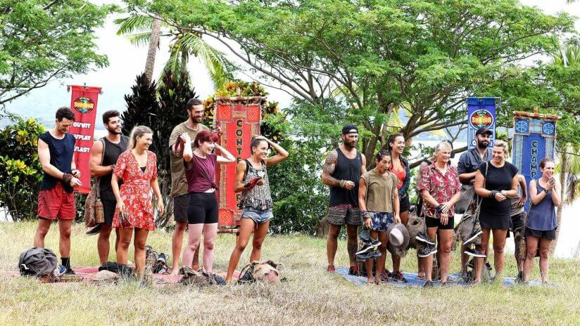 AU Survivor Tribe Swap