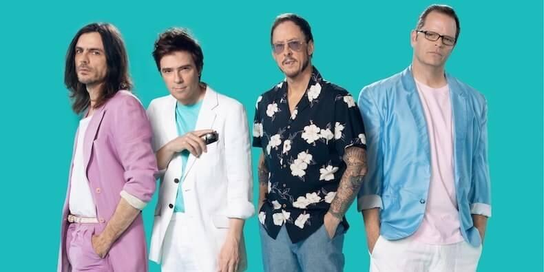 Weezer teal album